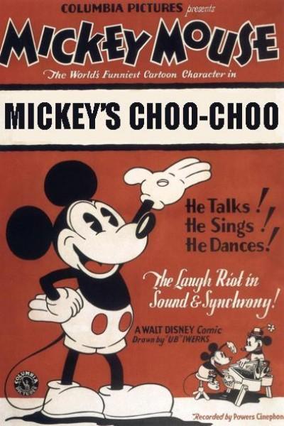 Caratula, cartel, poster o portada de Mickey Mouse: El trenecito de Mickey