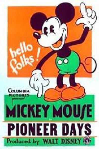 Caratula, cartel, poster o portada de Mickey Mouse: Mickey y Minnie en el Oeste