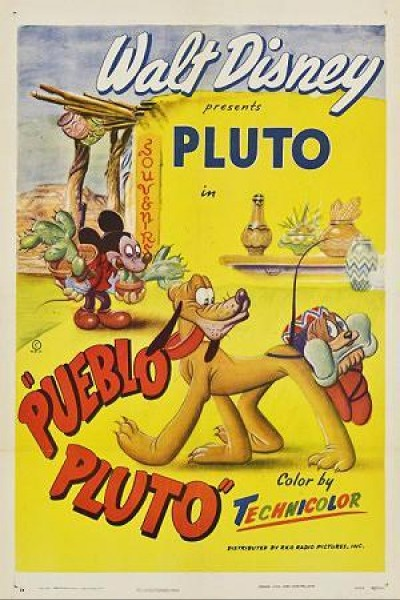 Caratula, cartel, poster o portada de Pueblo Pluto