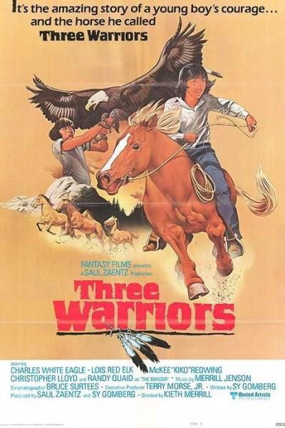 Caratula, cartel, poster o portada de Tres guerreros