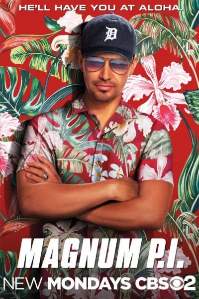 Caratula, cartel, poster o portada de Magnum P.I.