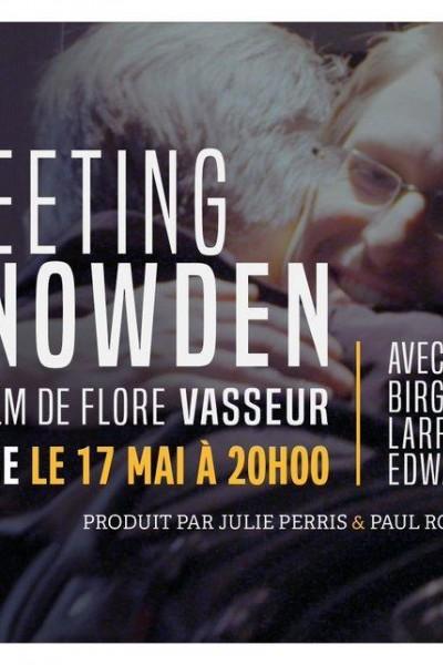 Caratula, cartel, poster o portada de Meeting Snowden
