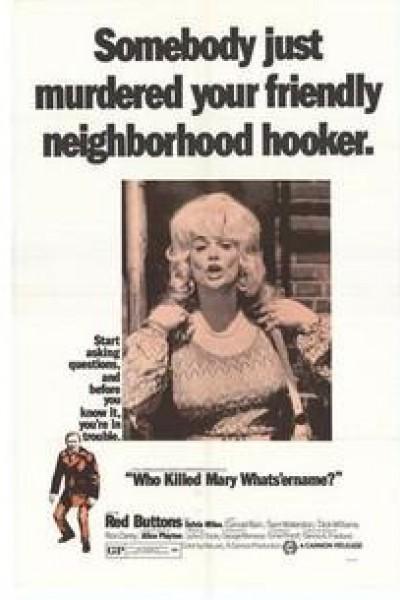 Caratula, cartel, poster o portada de Asesinato de una prostituta