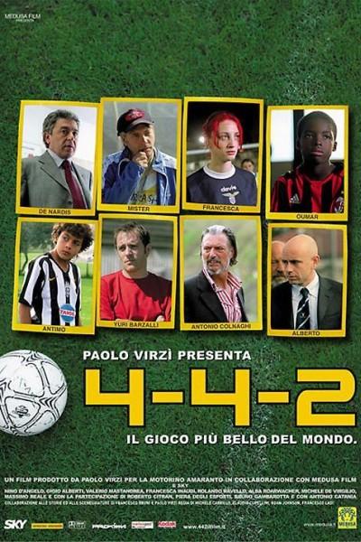 Caratula, cartel, poster o portada de 4-4-2 - Il gioco più bello del mondo