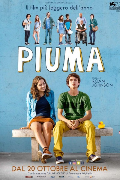 Caratula, cartel, poster o portada de Piuma