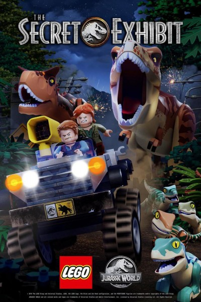 Caratula, cartel, poster o portada de LEGO Jurassic World: The Secret Exhibit