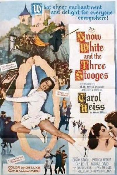 Caratula, cartel, poster o portada de Blancanieves y los tres vagabundos