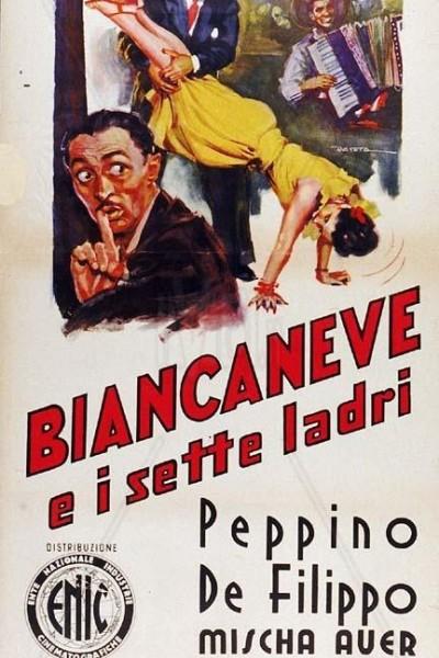 Caratula, cartel, poster o portada de Blancanieves y los siete ladrones