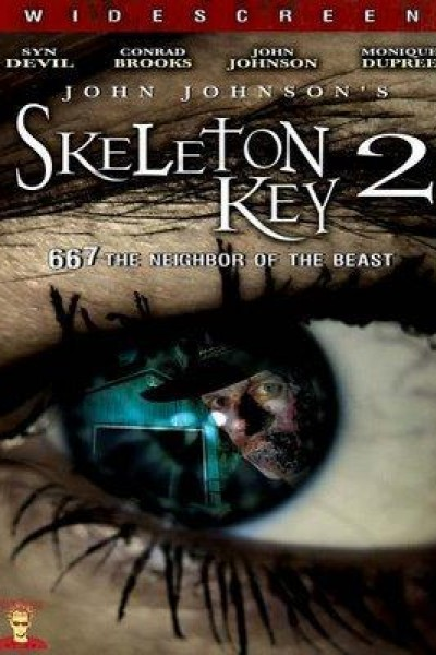 Caratula, cartel, poster o portada de Skeleton Key 2: 667 Neighbor of the Beast
