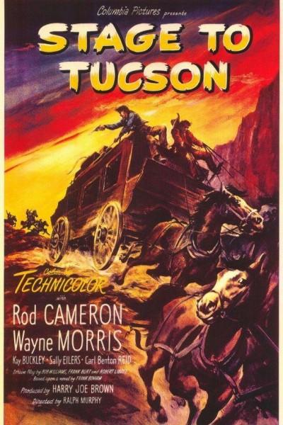 Caratula, cartel, poster o portada de Diligencia a Tucson