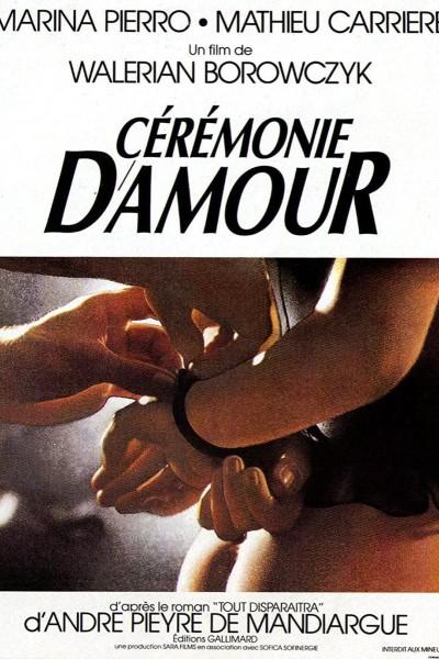 Caratula, cartel, poster o portada de Cérémonie d\'amour