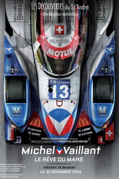 Caratula, cartel, poster o portada de Michel Vaillant, le rêve du Mans