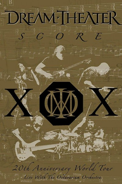 Caratula, cartel, poster o portada de Dream Theater: Score - 20th Anniversary World Tour Live with the Octavarium Orchestra