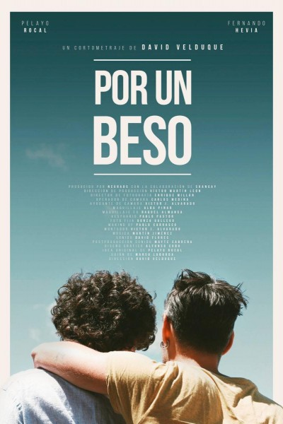 Caratula, cartel, poster o portada de Por un beso