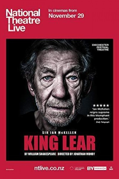 Caratula, cartel, poster o portada de National Theatre Live: King Lear