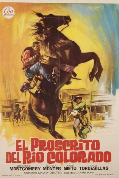 Caratula, cartel, poster o portada de El proscrito del río Colorado