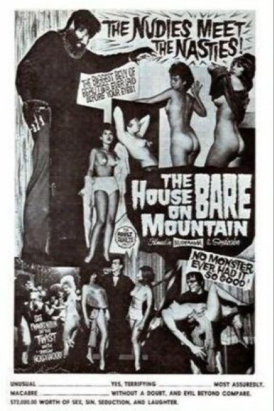 Caratula, cartel, poster o portada de La casa de los monstruos cachondos