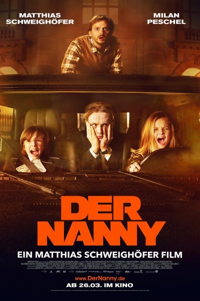 Caratula, cartel, poster o portada de Der Nanny