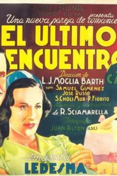 Caratula, cartel, poster o portada de El último encuentro