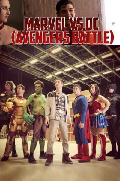 Caratula, cartel, poster o portada de Marvel vs. DC (Avengers Battle!)