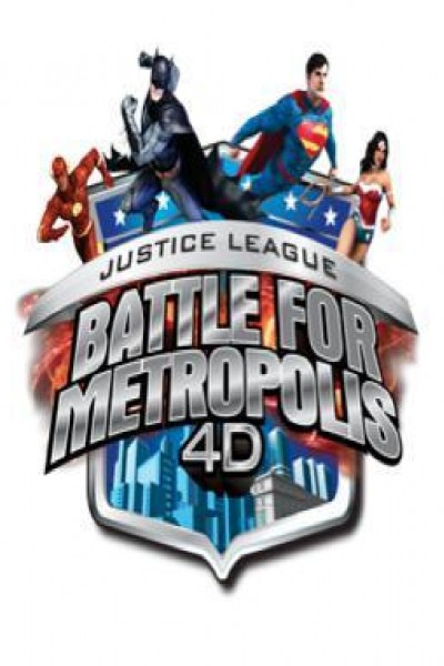 Caratula, cartel, poster o portada de Justice League: Battle for Metropolis 4D