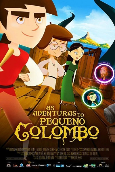 Caratula, cartel, poster o portada de Las aventuras del pequeño Colón