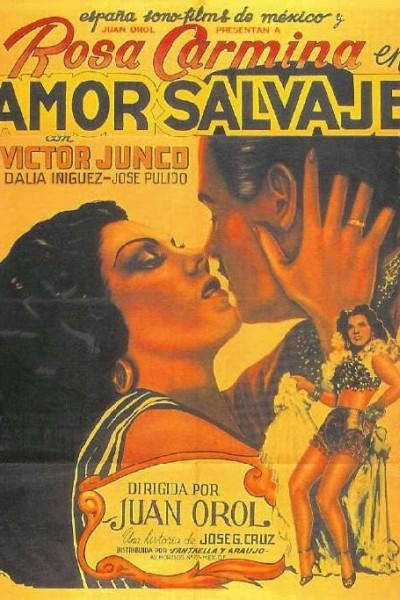 Caratula, cartel, poster o portada de Amor salvaje