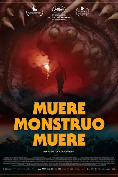 Caratula, cartel, poster o portada de Muere, monstruo, muere