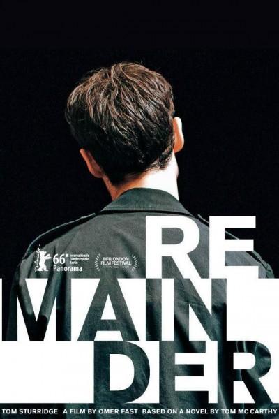 Caratula, cartel, poster o portada de Remainder