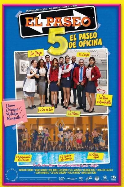 Caratula, cartel, poster o portada de El paseo 5: El paseo de oficina