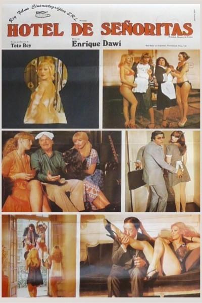 Caratula, cartel, poster o portada de Hotel de señoritas
