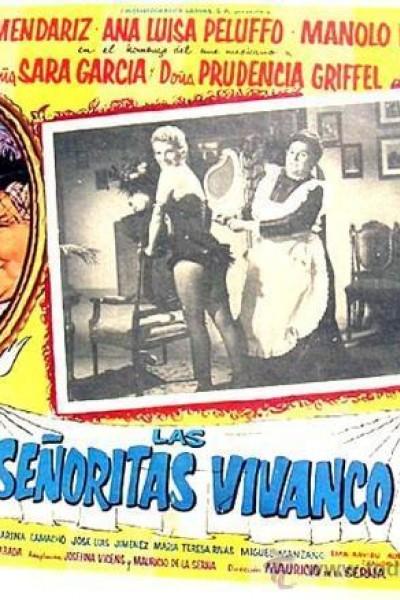 Caratula, cartel, poster o portada de Las señoritas Vivanco