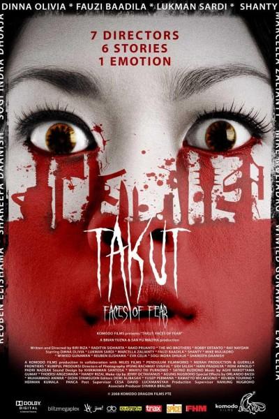 Caratula, cartel, poster o portada de Takut: Faces of Fear