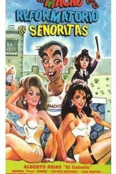 Caratula, cartel, poster o portada de Un macho en el reformatorio de señoritas