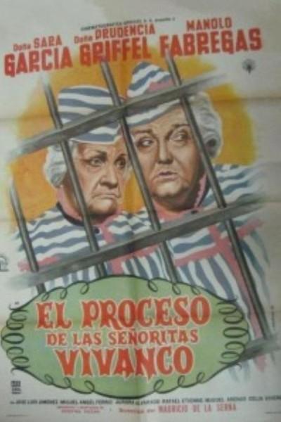 Caratula, cartel, poster o portada de El proceso de las señoritas Vivanco