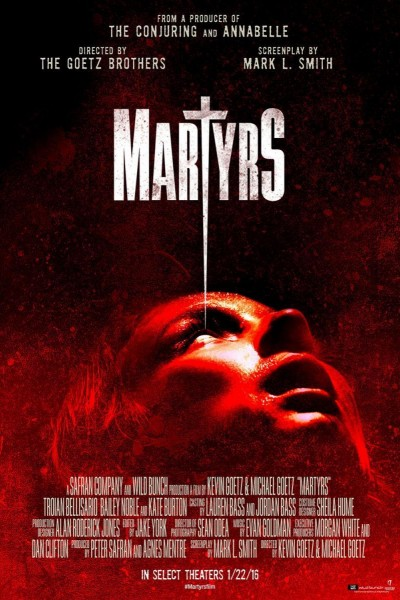 Caratula, cartel, poster o portada de Martyrs