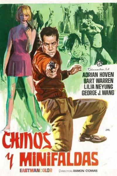 Caratula, cartel, poster o portada de Chinos y... minifaldas