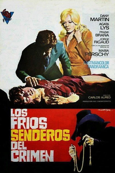 Caratula, cartel, poster o portada de Los fríos senderos del crimen