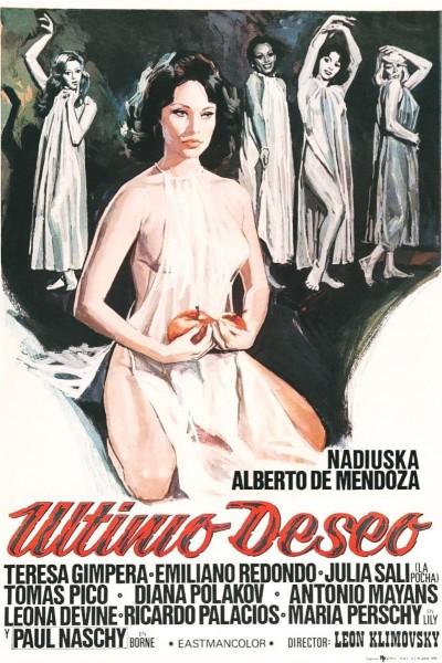 Caratula, cartel, poster o portada de Último deseo