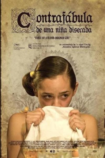 Caratula, cartel, poster o portada de Contrafábula de una niña disecada