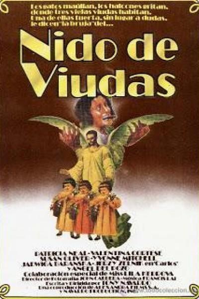 Caratula, cartel, poster o portada de Nido de viudas