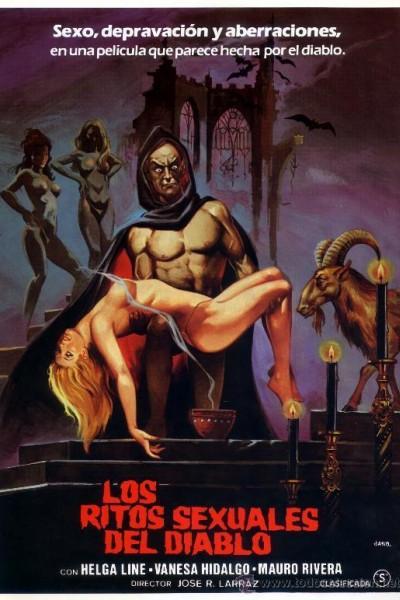Caratula, cartel, poster o portada de Los ritos sexuales del diablo