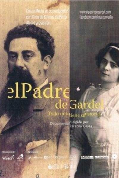 Caratula, cartel, poster o portada de El padre de Gardel