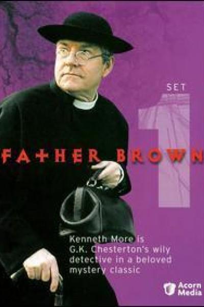 Caratula, cartel, poster o portada de El padre Brown