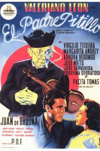 Caratula, cartel, poster o portada de El padre Pitillo