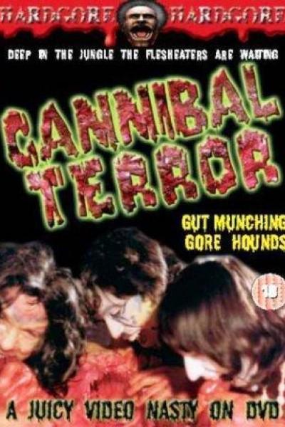 Caratula, cartel, poster o portada de Terror caníbal