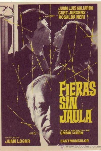 Caratula, cartel, poster o portada de Fieras sin jaula