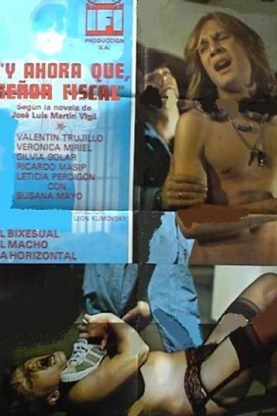 Caratula, cartel, poster o portada de ¿Y ahora qué, señor fiscal?