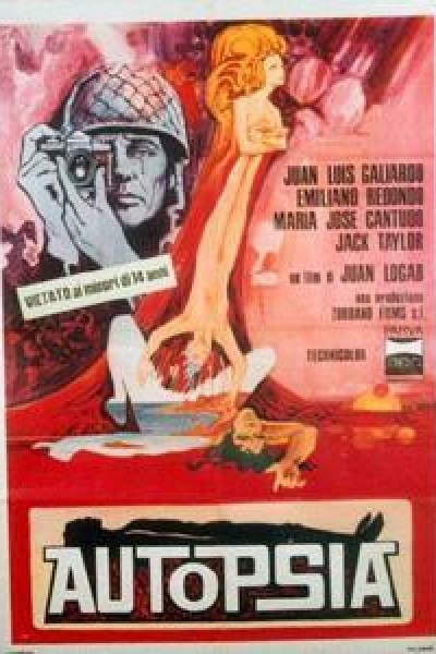 Caratula, cartel, poster o portada de Autopsia