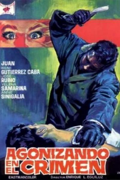 Caratula, cartel, poster o portada de Agonizando en el crimen